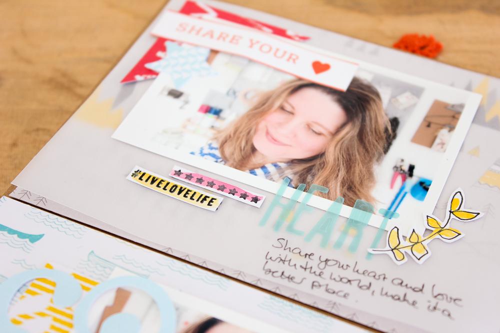 Mini Album aus Umschlägen und Karten - Janna Werner