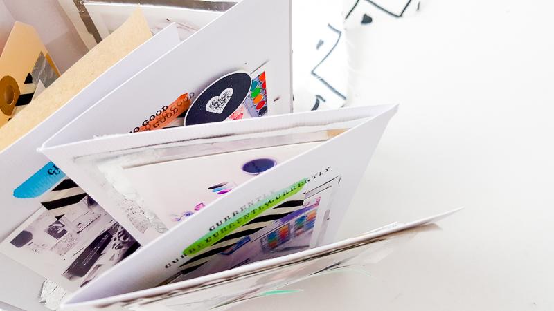 Upcycle Mini Album im Akkordeon-Stil - Janna Werner